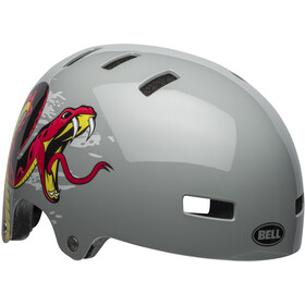 Bell Span Cykelhjälm Barn viper dark gray/red